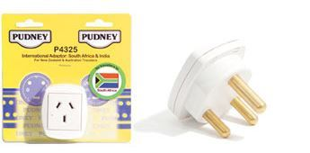 Pudney South African Travel Adaptor