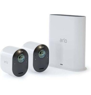 ArloUltra 2 Spotlight 4K UHD Camera 2 Pack