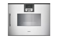 Gaggenau 200 Series Silver Combi-steam Oven Right Hinge 45cm