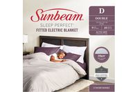 Sunbeam Sleep Perfect Double Bed Fitted Heated Blanket