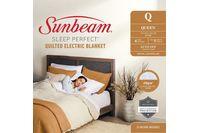 Sunbeam Sleep Perfect Queen Bed Quilted Heated Blanket