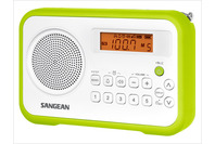 Sangean Digital Tuning Portable Radio - Green