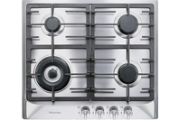Miele 4 burner Gas Cooktop with a Mono Wok Burner