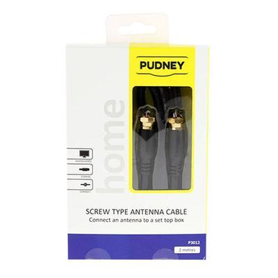 Pudney F Plug Cable (2m)