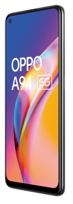 Oppo a94 5g fluid black front45right rgb lowres