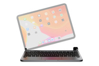 """Brydge 11.0 Pro+ Wireless Backlit Keyboard with Trackpad for iPad Pro 11"""" (Space Gray)"""