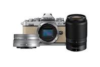 Nikon Z FC Sand Beige Nikkor 16-50mm VR Silver + 50-250mm