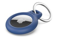 Belkin Secure Holder with Key Ring for AirTag Blue