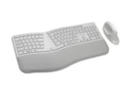 Kensington Dual Wireless Ergo Desktop Set - Grey