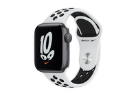 Apple Watch Nike SE GPS, 40mm Silver  Case With Pure Platinum/Black Band