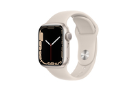 Apple Watch Series 7 GPS + Cellular 41mm Starlight Aluminium Case Starlight Sport Band