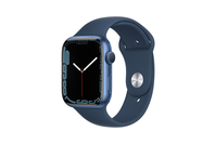 Apple Watch Series 7 GPS + Cellular 45mm Blue Aluminium Case With Abyss Blue Sport Band