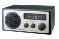 Sangean FM/AM Retro Style Table Radio - Black