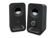 Logitech z150 Multimedia Speakers - Midnight Black