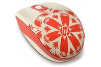 HP Z3600 Wireless Mouse Flower