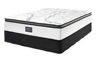 SLEEPMAKER MONTEGO PLUSH MATTRESS & BASE KING