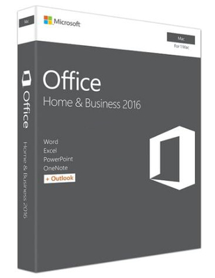 Microsoft Office Home & Business 2016 - Mac