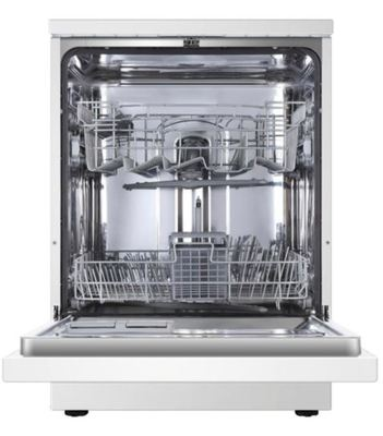 Hdw13g1w haier free standing dishwasher white 2